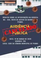 Audiência Pública - 10/06/2019 às 20h